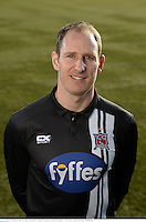 22 February 2016; Gary Rogers, Dundalk FC. Dundalk FC photoshoot. Oriel Park, Dundalk, Co. Louth. Picture credit: Paul Mohan / SPORTSFILE
