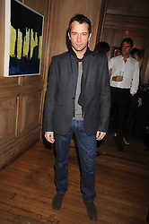 JAMES PUREFOY at a party to celebrate the launch of Hollywood Domino - a brand new board game, held at Mosimann's 11b West Halkin Street, London on 7th November 2008.  The evening was in aid of Charlize Theron's Africa Outreach Project.