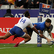 20200209 Rugby, Guinness 6 nations : Francia vs Italia