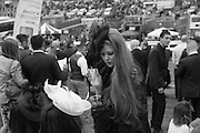 Ladies Day, Epsom Downs.  A pop-up bar in No 1 car-park and lunch in a Box in the grandstand. . 3 June 2016
