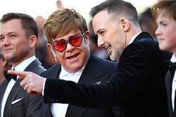 David Furnish, Sir Elton John attend the screening of Rocketman during the 72nd annual Cannes Film Festival on May 16, 2019 in Cannes, France Photo by Shootpix/ABACAPRESS.COM