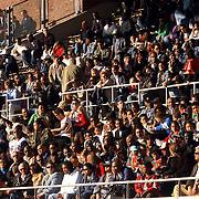 NLD/Amsterdam/20050523 - Voetbal, Suriprofs - Heracles, .publiek, tribune