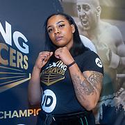 NLD/Rotterdam/20200224 - Stare down Boxing Influencers 2020, Vonneke Bonneke