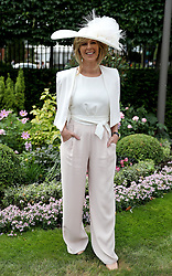 Kate Garraway during day one of Royal Ascot at Ascot Racecourse.