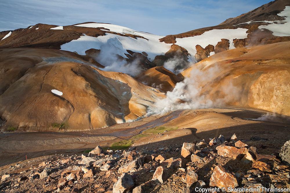 Kerlingarfjöll, central highlands of Iceland
