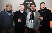 Cyril Briscoe , Jonathon Duggan and at The Jameson The Black Barrel Craft Series  at Old printing works, Market Street with music by Corner boy.  Photo:Andrew Downes