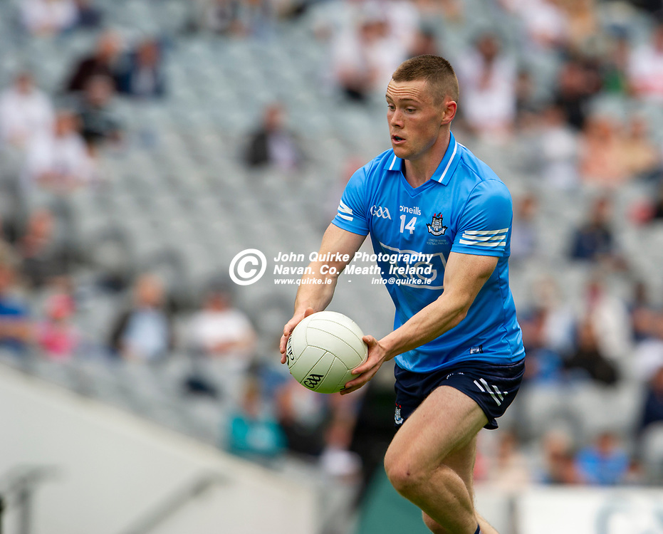 01–08-21.<br /> Dublin v Kildare - Leinster Senior Football Championship Final at Croke Park.<br /> Con O'Callaghan, Dublin in action against Kildare in the Leinster Senior Football Championship Final.<br /> Photo: John Quirke / www.quirke.ie<br /> ©John Quirke Photography, 16 Proudstown Road, Navan. Co. Meath. (info@quirke.ie / 046-9028461 / 087-2579454).