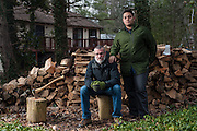 COLUMBIA, MD -- 12/20/14 -- Mark Johnson-Lewis, 48, and his son, Tyler Lewis, 22, talk about the complexity of being a biracial family..…by André Chung #_AC23200