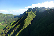Koolau Mountains, Honolulu, Oahu, Hawaii