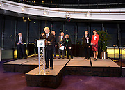 © London News Pictures. 04/05/2012. London, UK. BORIS JOHNSON speaks after being elected as Mayor of London at London City Hall on May 4, 2012. Johnson, a Conservative member of Parliament, defeated Ken Livingstone to become mayor of London for a second term. Photo credit: Stephen Simpson/LNP