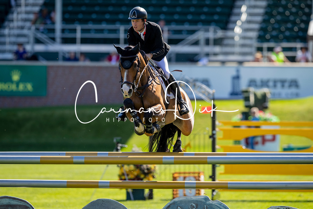 Brash Scott, GBR, Hello Jefferson<br /> Spruce Meadows Masters - Calgary 2019<br /> © Hippo Foto - Dirk Caremans<br />  04/09/2019