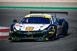 October 28, 2018 - Portimao, PORTUGAL - 55 SPIRIT OF RACE (CHE) FERRARI F488 GTE GTE DUNCAN CAMERON (GBR) MATTHEW GRIFFIN (IRL) AARON SCOTT  (Credit Image: © Panoramic via ZUMA Press)