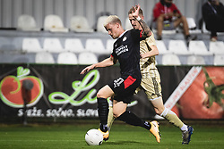 p31+ and Kai Cipot of Mura1+ pduring football match between NS Mura and PSV Eindhoven in Third Round of UEFA Europa League Qualifications, on September 24, 2020 in Stadium Fazanerija, Murska Sobota, Slovenia. Photo by Blaz Weindorfer / Sportida