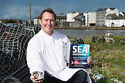Michael O'Meara knows a thing or two about seafood! As chef and proprietor of the renowned Oscar's Seafood Bistro restaurant in Galway and author of 'Seafood Gastronomy' voted Best Seafood Cookbook at this year's Gourmand World Cookbook Awards, Michael is passionate about sourcing seafood from local producers and for this reason his restaurant is included on BIM's Taste the Atlantic seafood trail.<br /> Photo:Andrew Downes, XPOSURE.