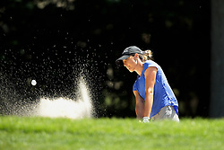 May 25, 2018 - Surrey, Michigan, United Kingdom - Jaye Marie Green of Florida hits out of the bunker on the 6th green during the second round of the LPGA Volvik Championship at Travis Pointe Country Club, Ann Arbor, MI, USA Friday, May 25, 2018. (Credit Image: © Jorge Lemus/NurPhoto via ZUMA Press)