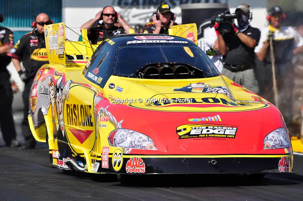 Paul Lee at Full throttle drag racing series, National Hot Rod Association 2011