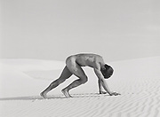 fine art photograph of male nude