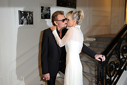 File photo : Johnny et Laeticia Hallyday attending Dior Haute Couture Fall/Winter 2016-2017 show as part of Paris Fashion Week on July 4, 2016 in Paris, France. France's biggest rock star Johnny Hallyday has died from lung cancer, his wife says. He was 74. The singer - real name Jean-Philippe Smet - sold about 100 million records and starred in a number of films. Photo by Alban Wyters/ABACAPRESS.COM