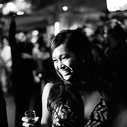 Kinatay's party at the C. Beach at the end of their Official screening day during the 62th Cannes Film Festival. France. 17 May 2009. Photo: Antoine Doyen