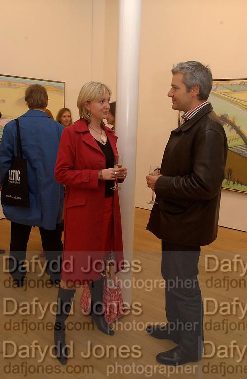 Jules Dixon and Wayne Thiebaud opening, Faggionato Fine Arts, Albermarle St. 10 April 2003. © Copyright Photograph by Dafydd Jones 66 Stockwell Park Rd. London SW9 0DA Tel 020 7733 0108 www.dafjones.com