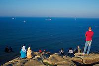 Maroc, Tanger, detroit de Gibraltar // Morocco, Tangier (Tanger), Gibraltar strait
