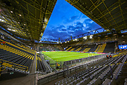 General view of inside Signal Iduna Stadium ahead of the Champions League round of 16, leg 2 of 2 match between Borussia Dortmund and Tottenham Hotspur at Signal Iduna Park, Dortmund, Germany on 5 March 2019.