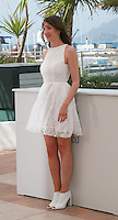 Zoe Bruneau at the photo call for the film  Goodbye to Language (Adieu au langage) at the 67th Cannes Film Festival, Wednesday 21st  May 2014, Cannes, France.
