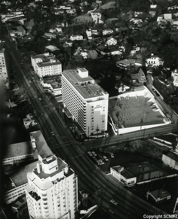1967 Continental Hyatt Hotel on Sunset Blvd.
