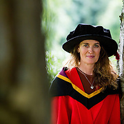 """23.08.2016        <br /> Over 300 students graduated from the Faculty of Arts, Humanities and Social Science at the University of Limerick today. <br /> <br /> Attending the conferring ceremony was Dr. Mairead Vaughan, Blarney Co. Cork who conferred with as a Doctor of Philosphy. Picture: Alan Place.<br /> <br /> <br /> <br /> <br /> UL Graduates Employability remains consistently high as they are 14% more likely to be employed after Graduation than any other Irish University Graduate<br /> Each year, the Careers Service collects information about the 'First Destinations' of UL graduates. During the April/May period following graduation, we survey those who have completed full-time undergraduate and postgraduate courses for details on their current status. This current survey was conducted nine months after graduation and focuses on the employment and further study patterns of the graduates of 2015. A total of 2,933 graduates were surveyed and a response rate of 87% was achieved. <br /> As the University of Limerick commences four days of conferring ceremonies which will see 2568 students graduate, including 50 PhD graduates, UL President, Professor Don Barry highlighted the continued demand for UL graduates by employers; """"Traditionally UL's Graduate Employment figures trend well above the national average. Despite the challenging environment, UL's graduate employment rate for 2015 primary degree-holders is now 14% higher than the HEA's most recently-available national average figure which is 58% for 2014"""". The survey of UL's 2015 graduates showed that 92% are either employed or pursuing further study."""" Picture: Alan Place"""