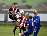 Jordan Doherty of Sheffield Utd during the professional development league two match at the Bracken Moor Stadium, Stocksbridge. Picture date 21st August 2017. Picture credit should read: Simon Bellis/Sportimage
