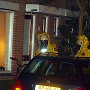 Verdacht poeder Kuinder 1 Huizen, brandweer in gaspakken