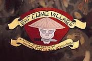Sat Cong Village war games paintball combat park near Los Angeles, California, USA.