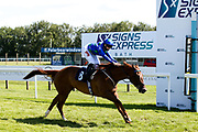 Alezan ridden by Georgia Dobie trained by Eve Johnson Houghton wins the Visitbath.co.uk Classified Stakes - Mandatory by-line: Robbie Stephenson/JMP - 22/07/2020 - HORSE RACING - Bath Racecoure - Bath, England - Bath Races