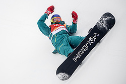 PYEONGCHANG-GUN, SOUTH KOREA - FEBRUARY 14: Scotty James of Australia competes during the Men's Halfpipe Final at Phoenix Snow Park on February 14, 2018 in Pyeongchang-gun, South Korea.  Photo by Ronald Hoogendoorn / Sportida