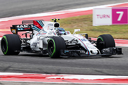 October 20, 2017 - Austin, Texas, U.S - Lance Stroll of Canada (18) in action before the Formula 1 United States Grand Prix race at the Circuit of the Americas race track in Austin,Texas. (Credit Image: © Dan Wozniak via ZUMA Wire)