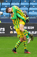 Football - 2019 / 2020 Sky Bet (EFL) Championship - Millwall vs. West Bromwich Albion<br /> <br /> West Bromwich Albion's Dara O'Shea celebrates scoring his side's second goal with Jake Livermore, at The Den.<br /> <br /> COLORSPORT/ASHLEY WESTERN