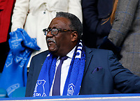 Football - 2018 / 2019 Premier League - Everton vs. Arsenal<br /> <br /> Former West Indies cricket captain Clive Lloyd in the directors box before the game, at Goodison Park.<br /> <br /> COLORSPORT/ALAN MARTIN