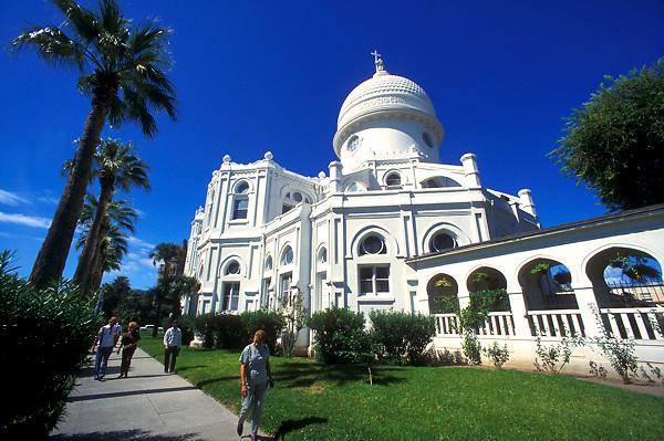 Historic architecture of Sacred Heart Church in Galveston Texas