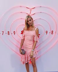 """Mandy Bork releases a photo on Instagram with the following caption: """"PINK PANTHER GOES HOLLYWOOD 