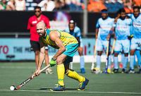 BREDA -  Matthew Swann (Aus) tijdens de shoot outs. , Australia-India (1-1), finale Rabobank Champions Trophy 2018. Australia wint shoot outs.  COPYRIGHT  KOEN SUYK