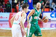 DESCRIZIONE : Varese Lega A 2013-14 Cimberio Varese Sidigas Avellino<br /> GIOCATORE : Spinelli Valerio<br /> CATEGORIA : Palleggio<br /> SQUADRA : Sidigas Avellino<br /> EVENTO : Campionato Lega A 2013-2014<br /> GARA : Cimberio Varese Sidigas Avellino<br /> DATA : 03/11/2013<br /> SPORT : Pallacanestro <br /> AUTORE : Agenzia Ciamillo-Castoria/I.Mancini<br /> Galleria : Lega Basket A 2013-2014  <br /> Fotonotizia : Varese Lega A 2013-14 Cimberio Varese Sidigas Avellino<br /> Predefinita :