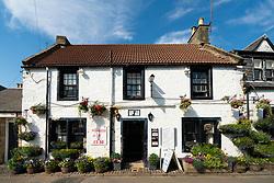 Exterior of Lomond Tavern in village of Falkland, Fife, Scotland, UK