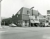 1960 Stores on NE corner Hollywood Blvd. & Hudson Ave.