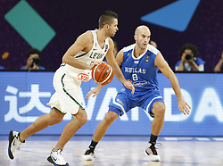 September 9, 2017 - Greece vs. Lithuania Eurobasket European Basketball Championship round of 16 match in Istanbul, Saturday, Sept. 9. 2017. (Credit Image: © Depo Photos via ZUMA Wire)