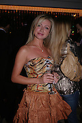 Inga Michasiuta. 'Polo' party  at The Westbury Hotel, Bond Street, London W1 on 26th April 2005.ONE TIME USE ONLY - DO NOT ARCHIVE  © Copyright Photograph by Dafydd Jones 66 Stockwell Park Rd. London SW9 0DA Tel 020 7733 0108 www.dafjones.com