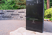 The Holocaust Memorial, Washinigton Park, Portland, Oregon