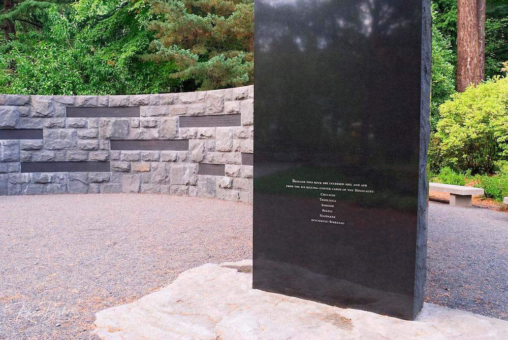 The Holocaust Memorial, Washinigton Park, Portland, Oregon