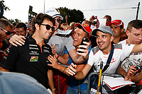 PEREZ Sergio (Mex) Force India Vjm07 Portrait  during the 2014 Formula One World Championship, Italy Grand Prix from September 5th to 7th 2014 in Monza, Italy. Photo Florent Gooden / DPPI