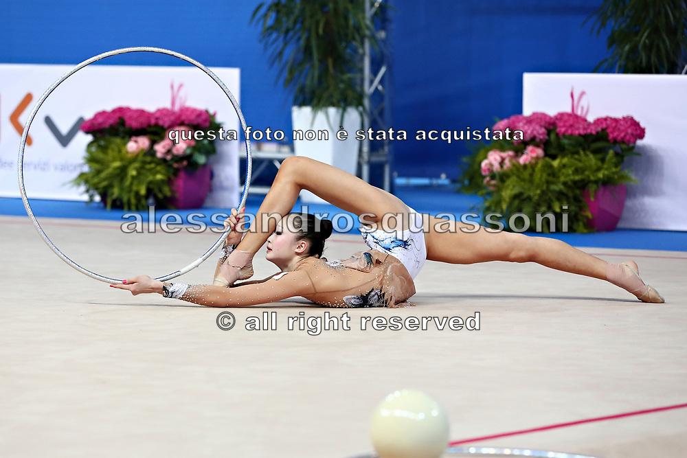 Kaho Minagawa was born 20 August 1997 in Chiba Prefecture, Japan is a Japanese individual rhythmic gymnast.
