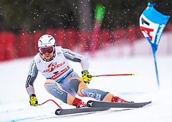 14.02.2020, Zwölferkogel, Saalbach Hinterglemm, AUT, FIS Weltcup Ski Alpin, Super G, Herren, im Bild Aleksander Aamodt Kilde (NOR) // Aleksander Aamodt Kilde of Norway in action during his run for the men's SuperG of FIS Ski Alpine World Cup at the Zwölferkogel in Saalbach Hinterglemm, Austria on 2020/02/14. EXPA Pictures © 2020, PhotoCredit: EXPA/ Johann Groder
